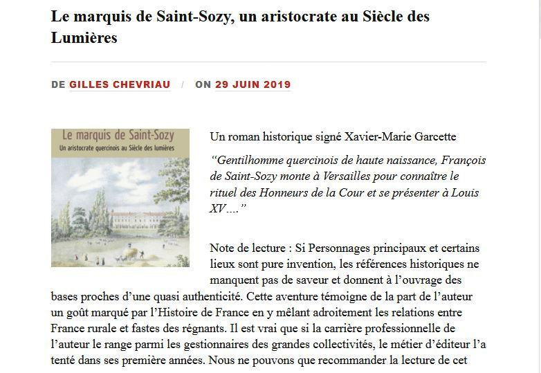 Article quarcy net