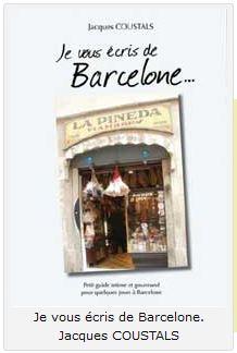 Je vous ecris de barcelone