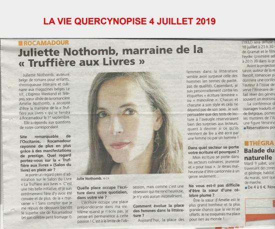 La vie quercynoise 4 juillet 2019 copie