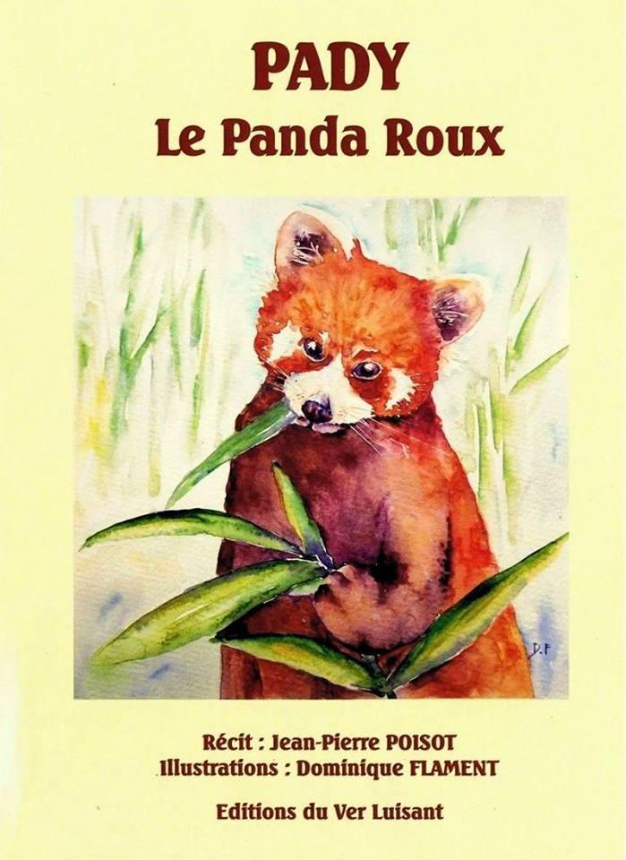 Pady le panda roux