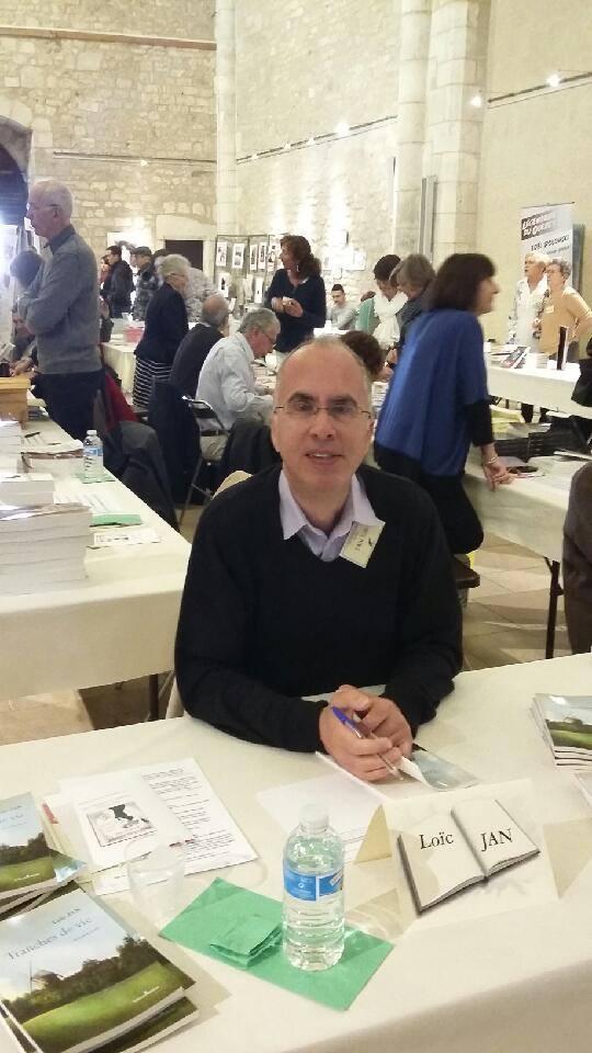 Salon du livre a souillac 24 04 2016